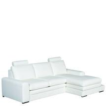 Шкіряний куток Helvetia Furniture - Soleto - 2,5F-REC/BK