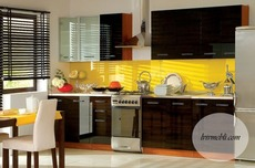 Кухня современная BRW - Nika Standard 260 Tafla (wenge)