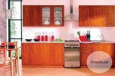 Кухня BRW - Nika Standard 260 Ekran (wisnia zlota)