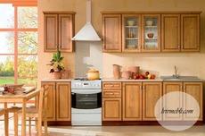 Кухня BRW - Nika Standard 260 Ramka A (sosna antyczna)