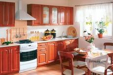 Кухня BRW - Nika Standard 260 Portal (czeresnia antyczna)