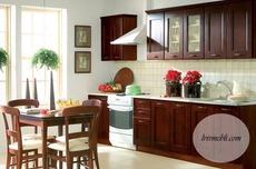 Кухня BRW - Nika Standard 260 Country (ciemny braz)