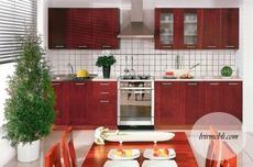 Кухня BRW - Nika Standard 260 Ekran (olcha ciemna)