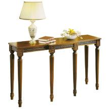 Консоль Galimberti - Consolle Luigi XVI - 6 gambe piano legno 400 (дерев'яна столешня)