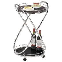 Столик для сервірування скляний SIGNAL - Barek B-145