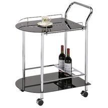 Столик для сервировки стеклянный SIGNAL - Barek B-912