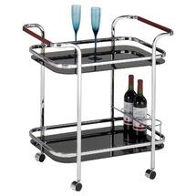 Столик для сервировки стеклянный SIGNAL - Barek B-980