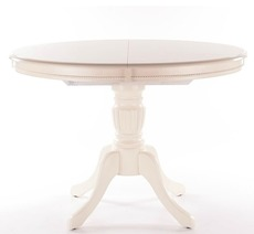 Стіл дерев'яний розкладний SIGNAL - Olivia bianco